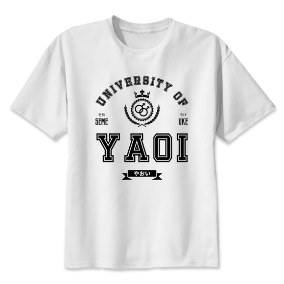 yaoi men's T Shirt Short sleeve O-Neck T-Shirt Men clothing Tops T2311