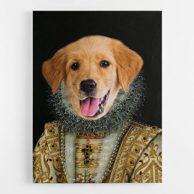 Dog Lady Canvas