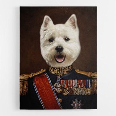 Dog Major Canvas