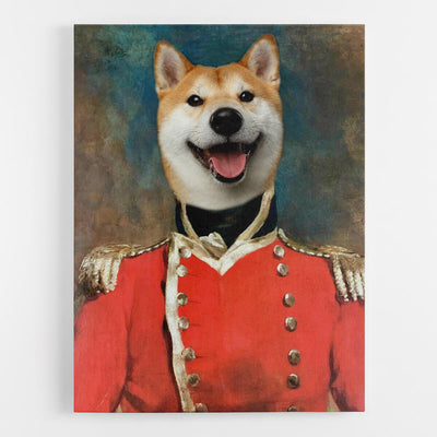 Dog Soldier Canvas