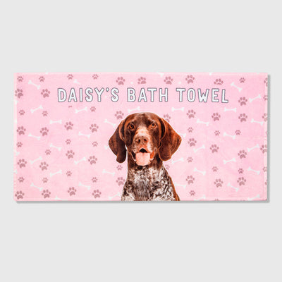 Your Dog Name Towel