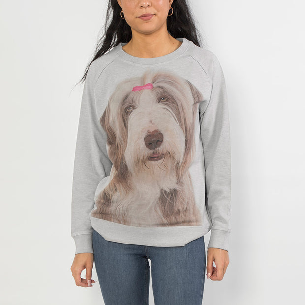 Dog Face Ladies Sweatshirt