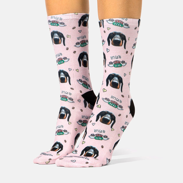 Central Perk Friends Dog Socks