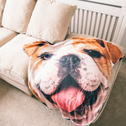 Dogsy Face Blanket