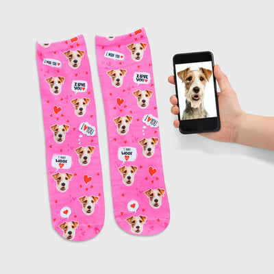 I Woof You Socks