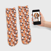 Dog & Owner Mash Up Socks