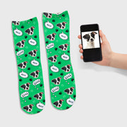 Your Dog Name Socks