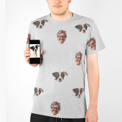 Dog & Owner Mens T-Shirt