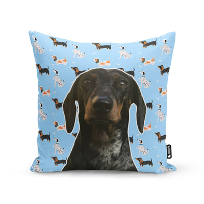 Patten Dog Face Cushion