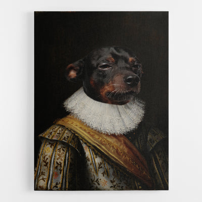 Dog Noble Canvas