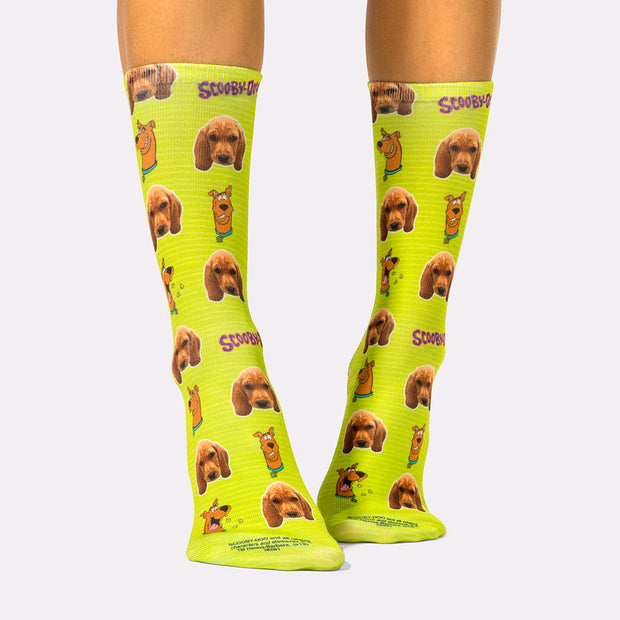 Scooby-Doo Face Socks