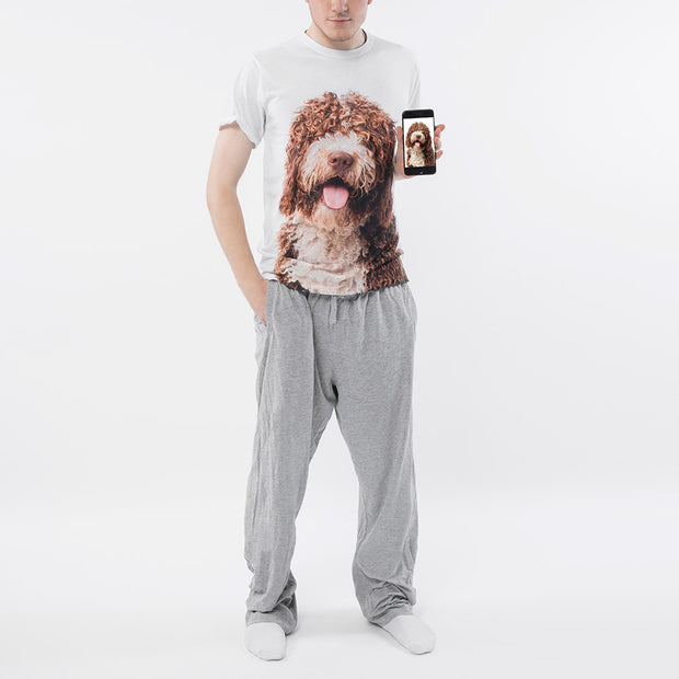 Dog Face Mens Pyjama Set