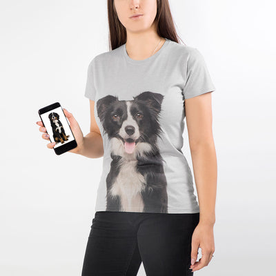 Dog Face Ladies T-Shirt