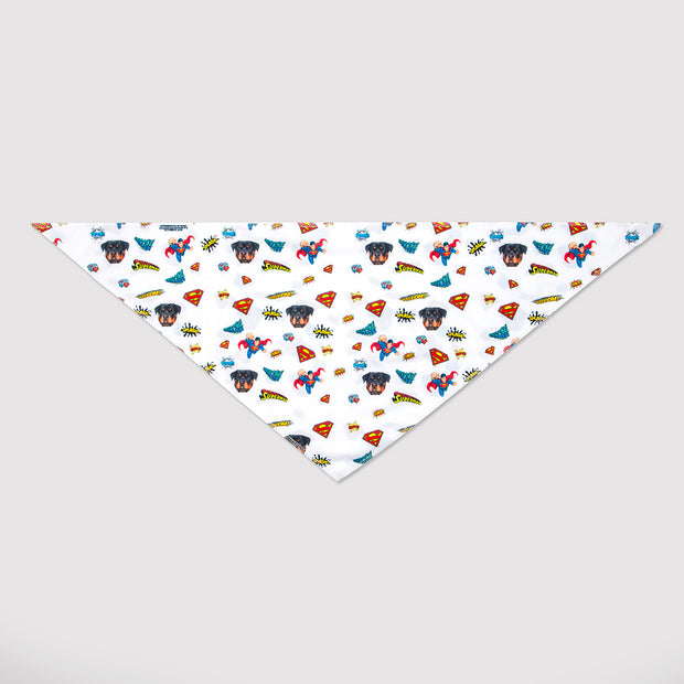 Superman Dog Bandana