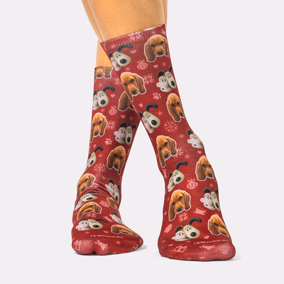 Wallace & Gromit Christmas Socks