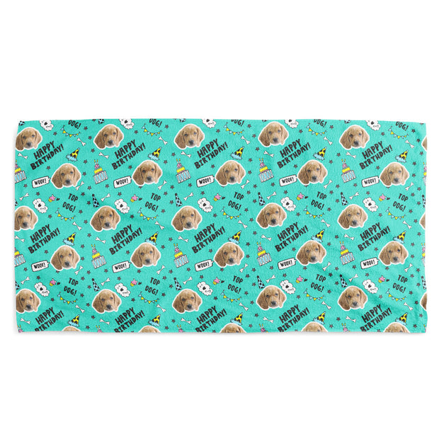 Top Dog Birthday Towel