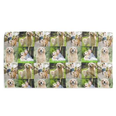 Your Dog Collage Towel