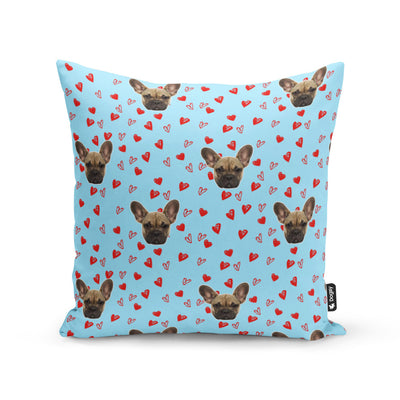 Your Dog Love Heart Cushion