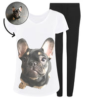 Dog Face Ladies Pyjama Set