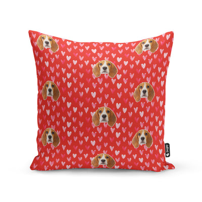 Love Heart Dogsy Cushion