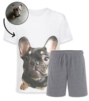 Dog Face Mens Pyjamas