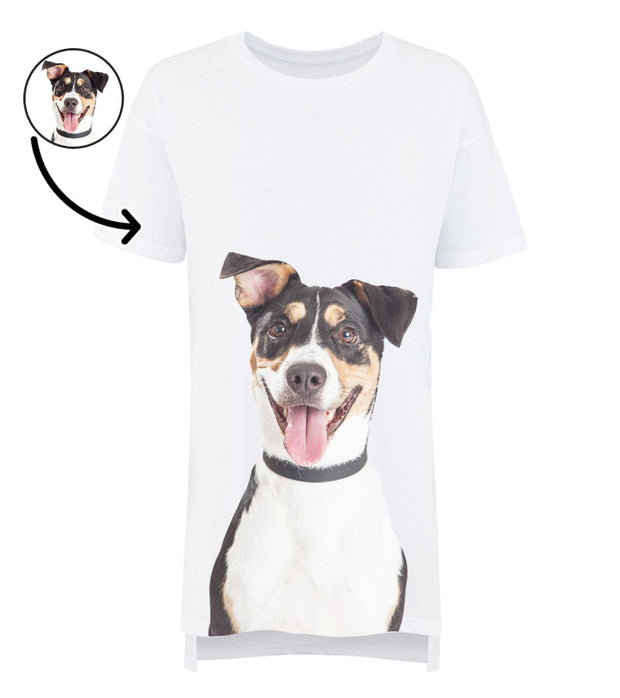 Dog Face Ladies Sleepy Nightshirt