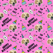 Dogsy Birthday Wrapping Paper