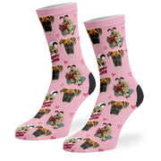 Puppy Love Wallace & Gromit Socks