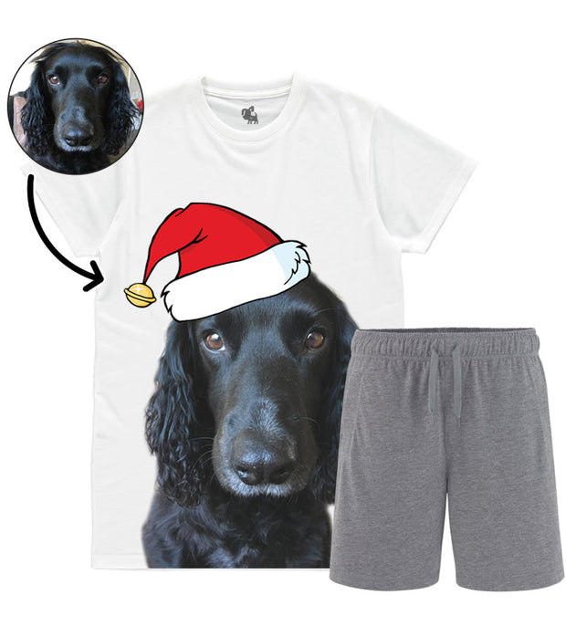 Dog Face Mens Christmas Pyjama Set