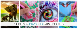 The BEST Diamond Painting Kits!