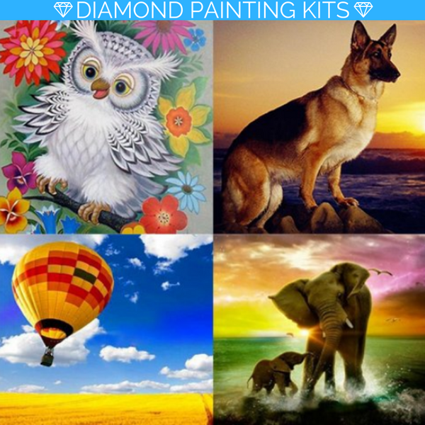 DIAMOND PAINTING OF THE MONTH CLUB