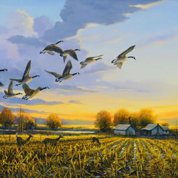 DIY-DIAMOND PAINTING/PAINT WITH DIAMONDS-GEESE