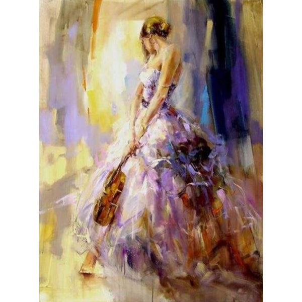 DIY-DIAMOND PAINTING/PAINT WITH DIAMONDS-MUSICIAN