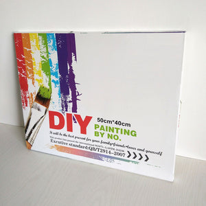 DIY-PAINT BY NUMBERS-MR. MOOSE