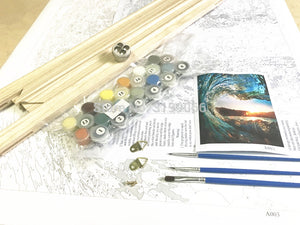 DIY-PAINT BY NUMBERS-GONDOLA