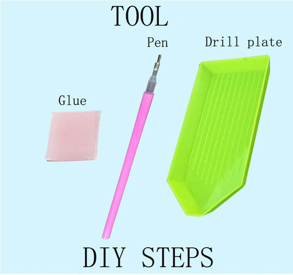 DIY-PAINT WITH DIAMONDS PEN & TOOL KIT