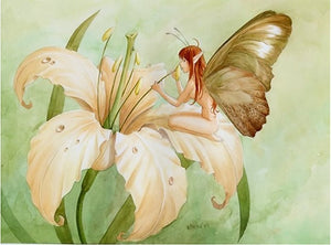 DIY-DIAMOND PAINTING/PAINT WITH DIAMONDS-BUTTERFLY FAIRY