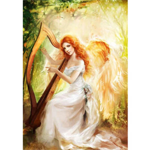 DIY-DIAMOND PAINTING/PAINT WITH DIAMONDS-HARP