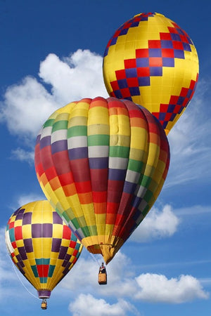 DIY-DIAMOND PAINTING/PAINT WITH DIAMONDS-HOT AIR BALLOON