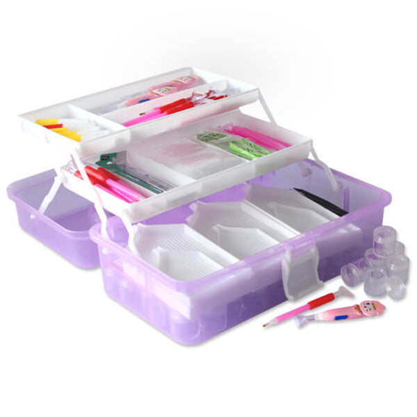 THE ULTIMATE DIAMOND PAINTING TOOL BOX