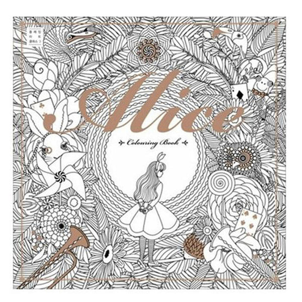 Adult Coloring Books - Seven Themes