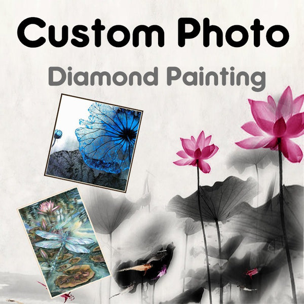 DIY-DIAMOND PAINTING-CREATE YOUR OWN CUSTOM KIT- 5 PANEL PAINTING