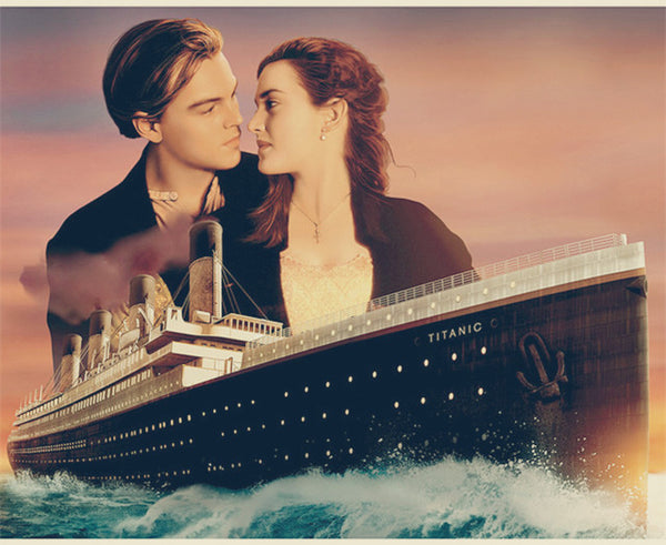 DIY-DIAMOND PAINTING/PAINT WITH DIAMONDS-THE TITANIC