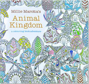 ADULT COLORING BOOK-ANIMAL KINGDOM