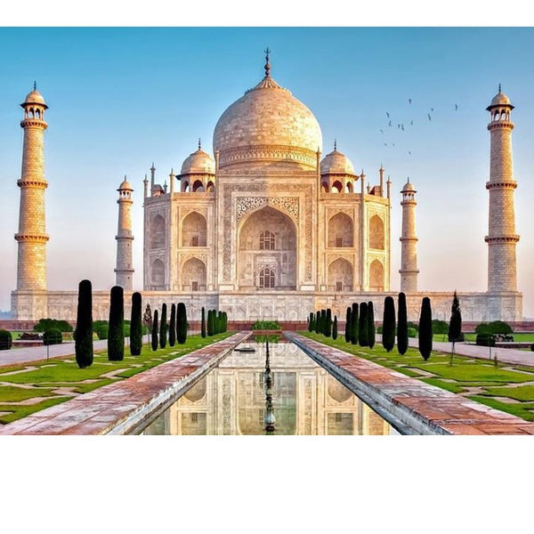 DIY-DIAMOND PAINTING/PAINT WITH DIAMONDS-THE TAJ MAHAL