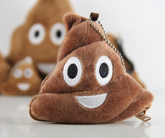 Poo Pillow Plush Soft Emoji Emoticon Coin