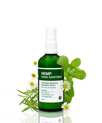Hemp Hand Sanitiser, Anti Septic Serum, Oz Hemp, Hemp oil, Australian hand sanitiser, Hemp seed oil, essential oils, Vegan, Vegan products