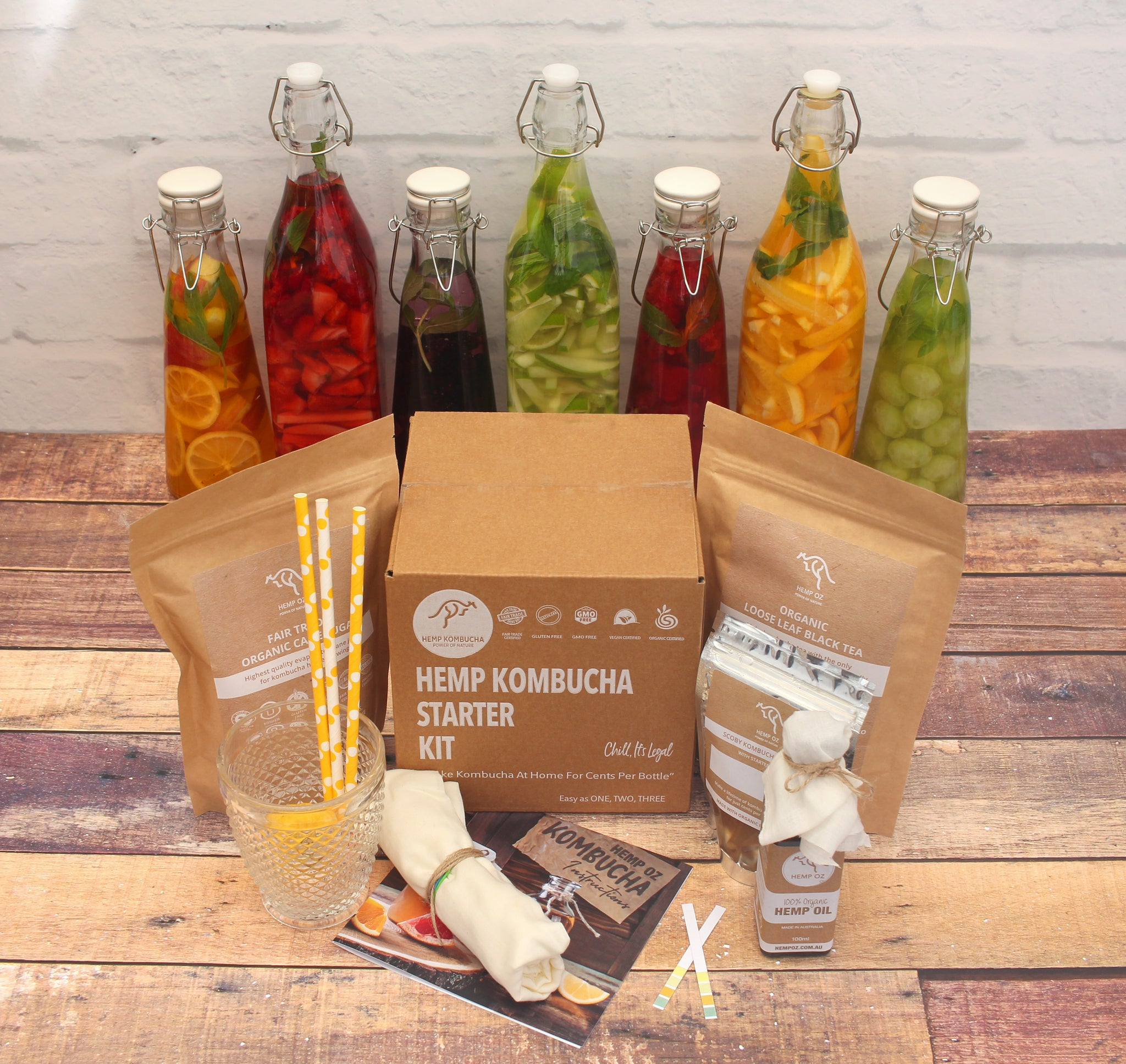 Hemp Kombucha Starter Kit