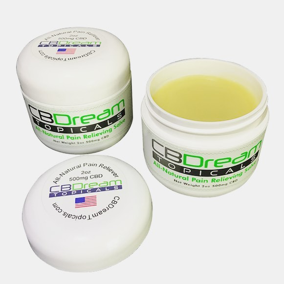 CBDream Topical Salve 2 0z 500mg
