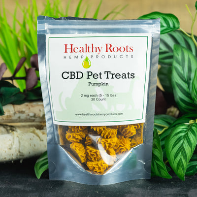 Healthy Roots Pet Treats 2mg - CBD Hemp Store, The #1 Trusted Source for CBD Oil, Vape Oil, CBD Edibles, CBD Lotions